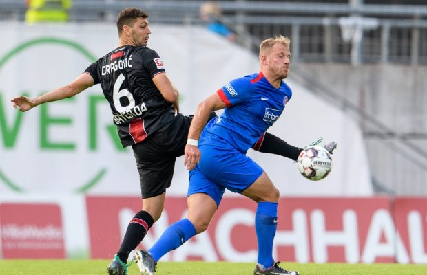 beim Testspiel zwischen dem Wuppertaler SV und Bayer 04 Leverkusen am 24.07.2018, Foto: Joerg Schueler